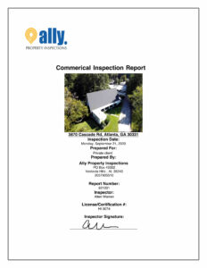 Commerical Property Inspection
